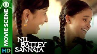 Principal and 10th std kids funny scene | Nil Battey Sannata