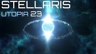 Прохождение STELLARIS UTOPIA: #23 - ФЛОТ 640 000. ФИНАЛ!
