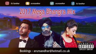2017 MEGA BHANGRA MIX | PART 1 | BEST DANCEFLOOR TRACKS