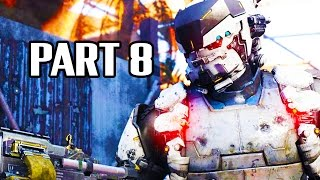 Call of Duty Black Ops 3 Gameplay Walkthrough Part 8 - Campaign Mission 4 (PS4 1080p 60fps)