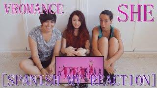 사거리 (SAGORI) | [SPANISH MV REACTION] VROMANCE(브로맨스) _ SHE(여자 사람 친구)