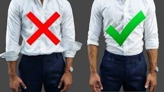 10 طرق خاطئة يرتدي بها الرجال ملابسهم !!