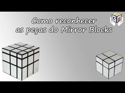Como Reconhecer as Peças do Mirror Blocks