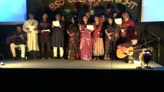 Aji Bangladesher Ridoy Hote - Group Song
