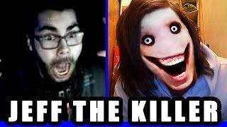 Jeff the Killer RETURNS ! Omegle Scare Prank