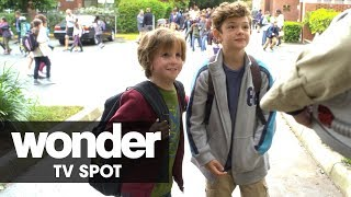 "Wonder (2017 Movie) Official TV Spot – ""Inspiring"" – Julia Roberts, Owen Wilson"