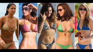 Top 10 Se@iest Hollywood Celebrity Bikini Bodies