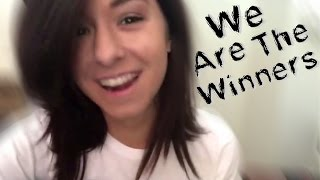 We Are The Winners - Christina G gets SONGIFIED!