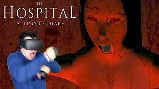 ALLISON IS HAUNTING ME IN THIS ABANDONED HOSPITAL!!! - Allison's Diary: The Hospital