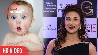 Divyanka Tripathi Funny Reaction on Planning For A Baby | Viralbollywood