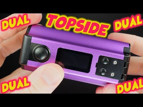 Topside Dual 18650 200w Squonk Mod By TVC & Dovpo!
