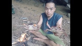 Primitive Skills: Catch Crab, Daily Food of Primitive People
