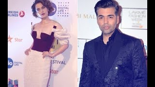 AWKWARD Encounter! When Kangana Ranaut Stood Right Behind Karan Johar To Greet Nita Ambani