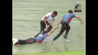 Bangladesh cricket team having fun in the Rain :p