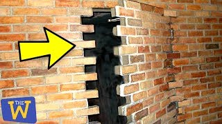10 Secret Hidden Places People Found in Their Homes