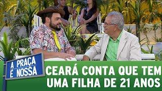 Matheus Ceará conta que tem uma filha de 21 anos   A Praça é Nossa (26/10/17)