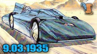 Today In History: Sir Malcolm Campbell Breaks Land Speed Record
