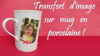 [ART-HOBBY] Video Transfert d' image sur porcelaine, idee cadeau HD