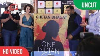 UNCUT - One Indian Girl Book Launch | kangana Ranaut, Chetan Bhagat
