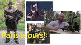"""""""Vikings"""" Siege Engine - 90 kilos, 300 meters?"""
