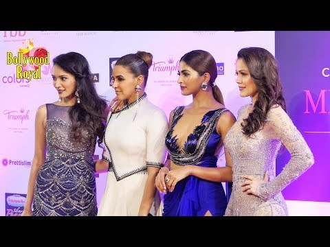 Xxx Mp4 Neha Dhupia Waluscha D Souza Others At Red Carpet Of Miss India Grand Finale 2017 Part 3 3gp Sex