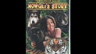 Opening To The Jungle Book:Mowgli's Story 1998 VHS