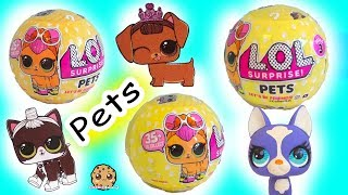 LOL Surprise Pets Blind Bag Balls -  Litter Box Sand Poop, Pee , Cry , Color Change ?