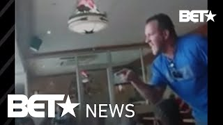 White Man Threatens to Beat Black Woman in Front of Her Kids at Restaurant