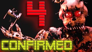 FNAF 4 CONFIRMED!!! - Purple Man Returns!? - Final Chapter! - Five Nights at Freddy's 4