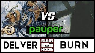 Pauper - UB ONE DROPS DELVER vs RAKDOS BURN