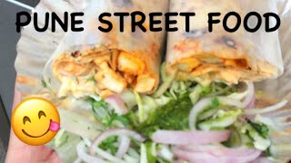 EXPLORING PUNE STREET FOOD | India | Sandy Life Vlogs