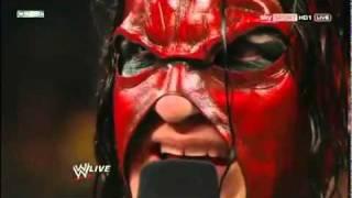 Raw 12-26-11 John Cena Heel Turn & Masked Kane Hate Promo (Full Segment)