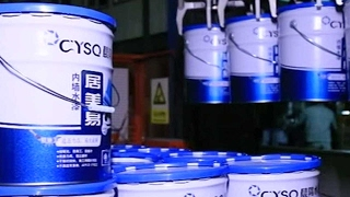 Asia's largest production line for water-based paint opens in China