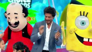 #SRK at #Nickelodeon Kid's Choice Awards 2016 in Mumbai 05.12.2016