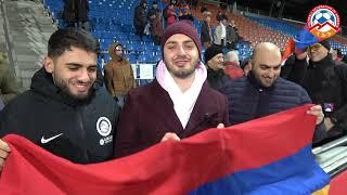 Լիխտենշտեյն-Հայաստան խաղին ներկա էին հայ երկրպագուներ Եվրոպայի տարբեր երկրներից