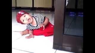 Cute Baby Nabilah Playing