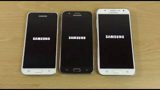 Samsung Galaxy J3 2016 vs Galaxy J5 vs Galaxy J7 - Speed Test!