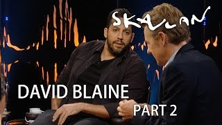 David Blaine ice pick magic | Part 2 | SVT/NRK/Skavlan