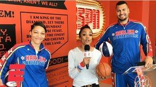 Harlem Globetrotters dunk all over ESPN campus   College Basketball Bonanza