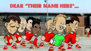Liverpool Toons Happy Birthday Greeting