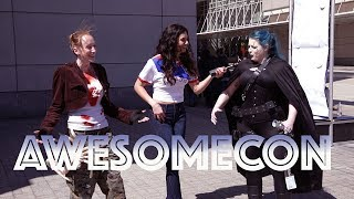 NERDing out at AWESOMECON w/Comic Book Fans Galore!