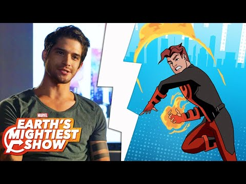 Get to know Inferno from Marvel Rising! | Earth's Mightiest Show Bonus