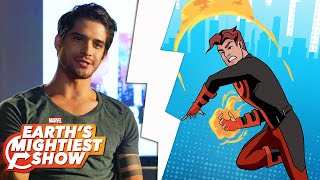 Get to know Inferno from Marvel Rising!   Earth