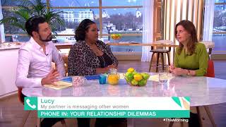 My Partner is Messaging Other Women | This Morning