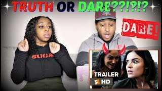 Truth or Dare Trailer #1 REACTION!!!!