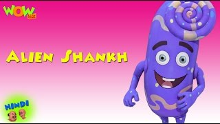 Alien Shankh - Motu Patlu in Hindi - 3D Animation Cartoon for Kids -As seen on Nickelodeon