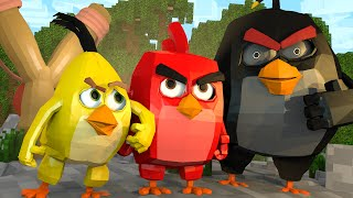 Minecraft   ANGRY BIRDS MOVIE! Angry Birds Mod Showcase! (Pigs, Leonard, Angry Birds Mod)