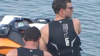 Jamie Dornan & Dakota Johnson - Jet Ski Scenes 12.07.16