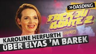 Karoline Herfurth: Elyas M`Barek verarscht mich!   DASDING