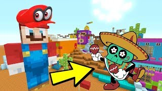 Minecraft Switch - Super Mario Series - SAND KINGDOM SKELETONS! [ODYSSEY] [224]